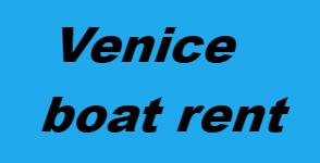 venice boat rent logo