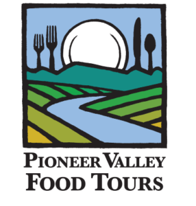 Pioneer valley food tours logo